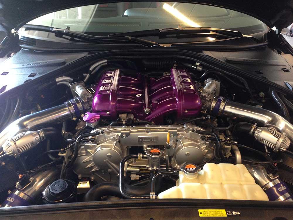 Motor Compartiment Reinigen